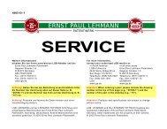 40510-1 Service - Van Elten