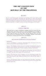 Philippine Constitution - Reconstituted Professional Regulatory ...