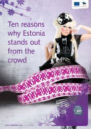 Ten reasons why Estonia stands out from the crowd - Amazon Web ...