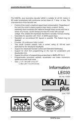 Information LE030 - Lenz USA