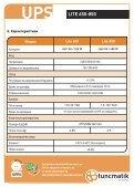 Ръководство на потребителя - Tuncmatik - Page 6