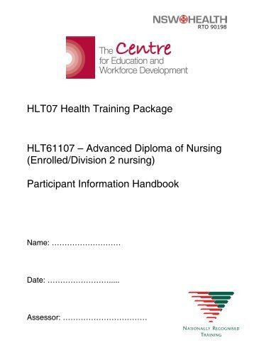 Enrolled/Division 2 nursing