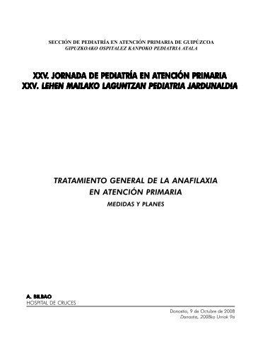 Tratamiento General de la Anafilaxia en Atención Primaria - unibe