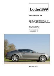 Bentley Continental GT - Auto-Stieger