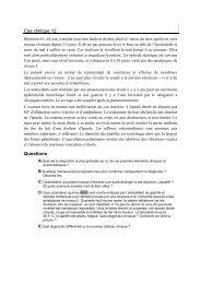 Cas clinique 12 - UMVF