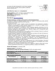 S.TE.P.RA Soc. Cons. a r.l. - Comune di Faenza
