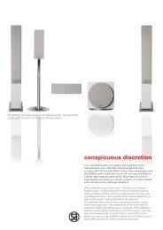 conspicuous discretion - System Audio
