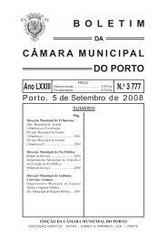 boletim 3777 - Câmara Municipal do Porto
