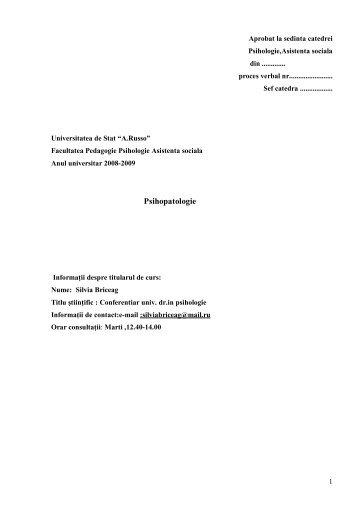 curriculum pato2009 ch