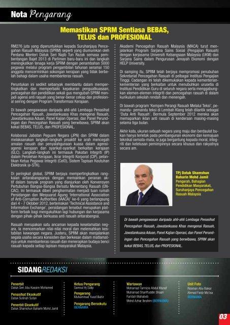 Banteras - Suruhanjaya Pencegahan Rasuah Malaysia