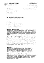IT strategi för Strängnäs skolor.pdf - Strängnäs kommun