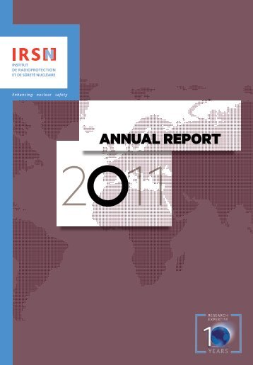 IRSN Annual Report 2011