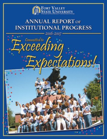 Report for 2006 - 2007 - Fort Valley State University