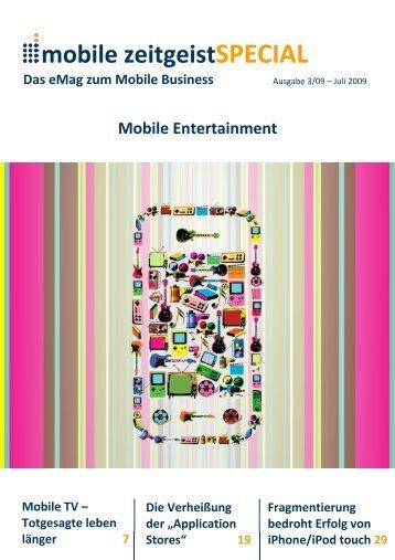 mobile zeitgeist SPECIAL 03/09