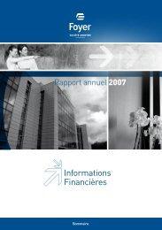 Comptes consolidés et annuels Foyer S.A.