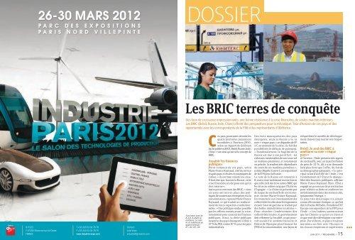 Le dossier de MECASPHERE sur les BRIC - ILE-DE-FRANCE ...
