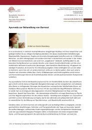 Ayurveda zur Behandlung von Burnout - Europäische Akademie für ...