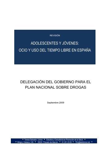 Estratègia N.C. - Plan Nacional sobre drogas - Ministerio de ...