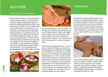 Ayurveda Frühjahrskur - La Vida Magazin