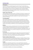 design, digital arts, and film - School of Continuing and Professional ... - Page 5