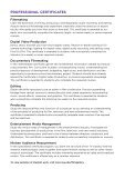 design, digital arts, and film - School of Continuing and Professional ... - Page 6