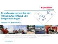 Grundwasserschutz bei der Planung Ausführung von Erdgasbohrungen - ARL