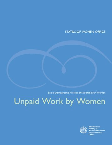 Unpaid Work by Women - Social Services