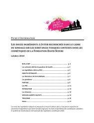Dirty-Dozen-backgrounder-October-2010_FR.pdf - David Suzuki ...