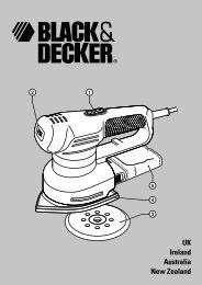 Instruction Manual - Black & Decker