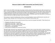 Resource Guide to BME Communities and Family Carers - One East ...
