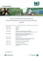 Microsoft Word - WBCSD Programme final.pdf - National Business ...