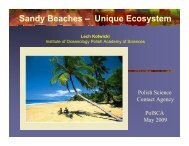 Sandy Beaches – Unique Ecosystem - PolSCA