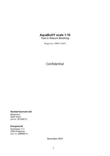 AquaBuOY scale 1:10 - Energinet.dk