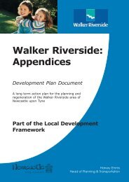 Walker Riverside: - Newcastle City Council