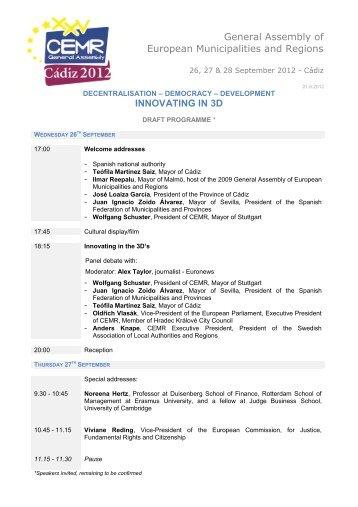 entête documents CCRE avec logo - Commission Méditerranée de ...