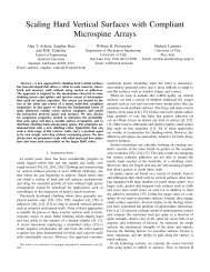 Scaling Hard Vertical Surfaces with Compliant Microspine Arrays