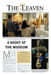 A NIGHT AT THE MUSEUM - The Leaven