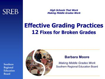 Effective Grading Practices - Texas Center for District & School ...