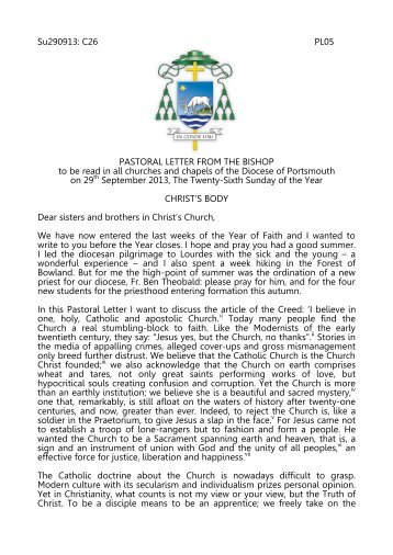 Download (PDF) - Roman Catholic Diocese of Portsmouth