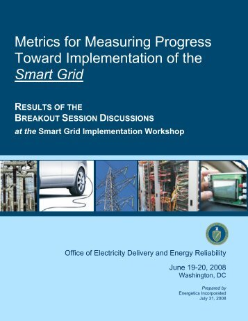 Smart Grid Workshop Report Final Draft 07 31 08 - Open Smart Grid ...