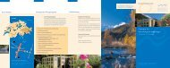 Flyer: Die gesunde Balance finden - Clinica Holistica Engiadina SA