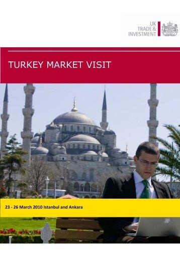 TURKEY MARKET VISIT - Avrupa İşletmeler Ağı
