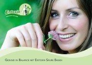 Gesund in Balance mit entoxin säure Basen - Meckel-Spenglersan ...