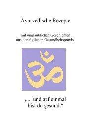 Ayurvedische Rezepte 1 - Yoga - Global Yoga Consciousness ...