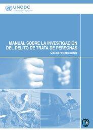 Manual sobre la Investigación del Delito de Trata de Personas - Acnur