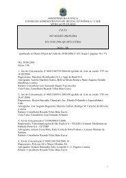 381ª Sessão Ordinária - Conselho Administrativo de Defesa ...