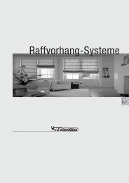 Raffvorhang-Systeme