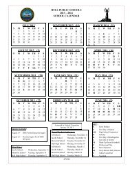 2013-2014 School Calendar - Town of Hull