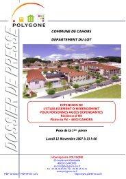 Extension de la Résidence d'Olt - Cahors
