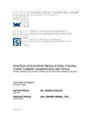 vysoké učení technické v brně syntéza stavového regulátoru výkonu ...